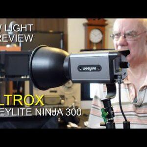 Viltrox Weeylite Ninja 300 80w LED light Review