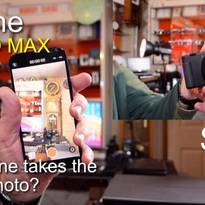 12 Pro Max & Sony Z-V1 - which camera takes the better photo?