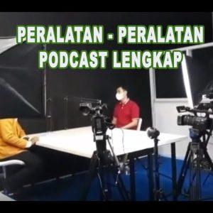 Tutorial Perangkat untuk Podcast Lengkap    Podcast Tutorial and Podcast Equipment