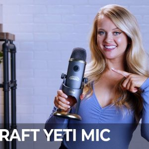 Set up your own podcast by unboxing Yeti microphone
